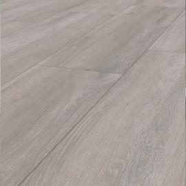 Tarima Flotante Laminada Ter Hürne Trend Line, Oak silver grey G10 1850, AC4 Clase 32, 20 Años de Garantía