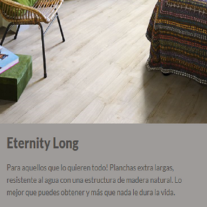 TARIMAS FLOTANTES LAMINADAS BERRY ALLOC ETERNITY LONG, OFERTA