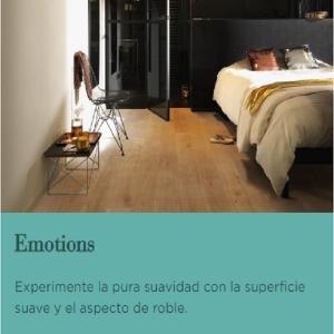 NOVEDAD. TARIMA FLOTANTE DE MADERA. BERRY ALLOC GAMA: EMOTIONS