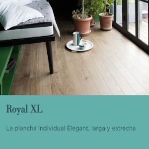 TARIMA FLOTANTE DE MADERA BERRY ALLOC. GAMA: ROYAL XL. NOVEDAD OFERTA