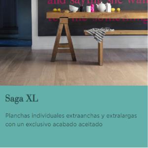 TARIMA FLOTANTE DE MADERA BERRY ALLOC. GAMA SAGA XL. NOVEDAD!!