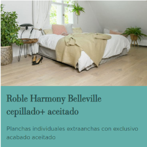 TARIMA FLOTANTE DE MADERA BERRY ALLOC ROBLE HARMONY BELLEVILLE CEPILLA