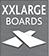 tabla de tarima xxl muy larga