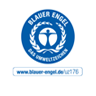 """BLAUER ENGEL El """"Ángel Azul"""" es un sello de calidad que existe desde 1978. Productos y proveedores de servicios reciben este sello de medio ambiente por sus productos favorables al medio ambiente"""